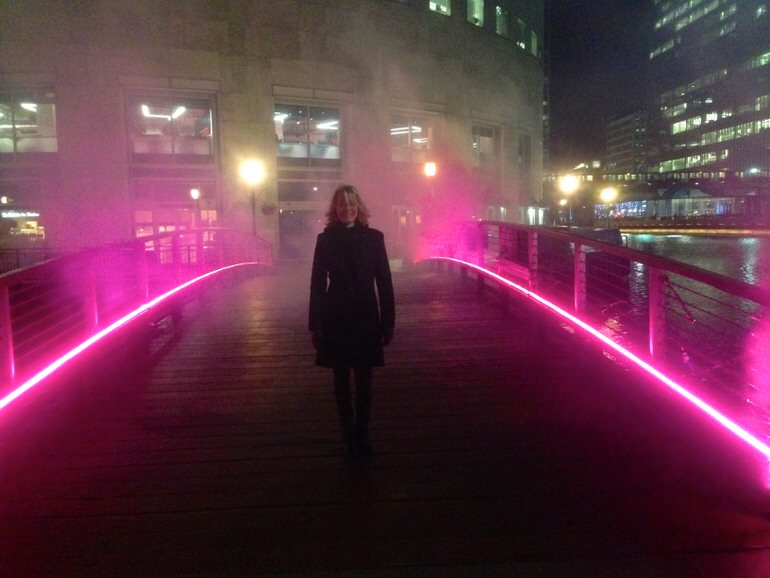 Canary Wharf  Pink Enchantment  Tine Bech Studio9
